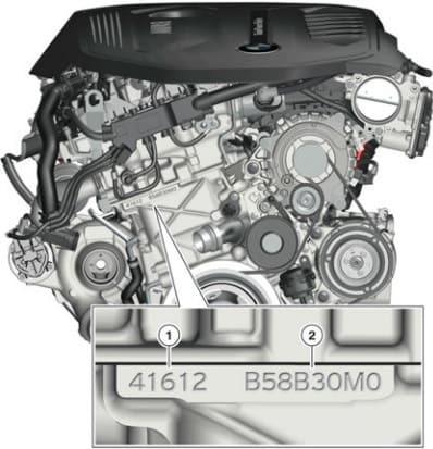 Двигатели b58b30, b58b30m0, b58b30o0 БМВ: характеристики, проблемы