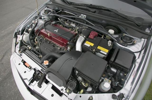 Двигатели Митсубиси Лансер Эволюшен: технические характеристики