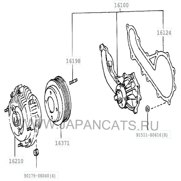 Двигатель 1pz toyota: технические характеристики, особенности
