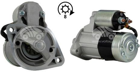 Генератор и стартер для двигателя mitsubishi 4d56