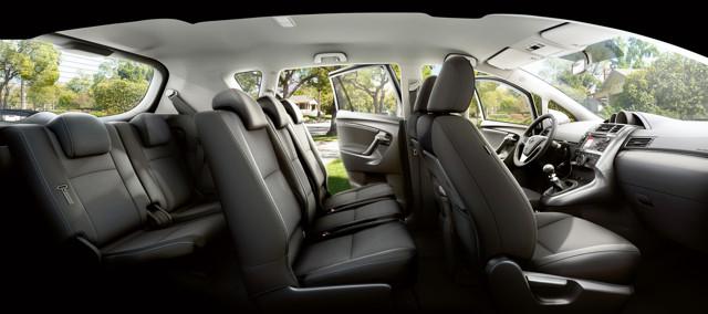 Двигатели Тойота Версо: комплектации, безопасность, характеристики