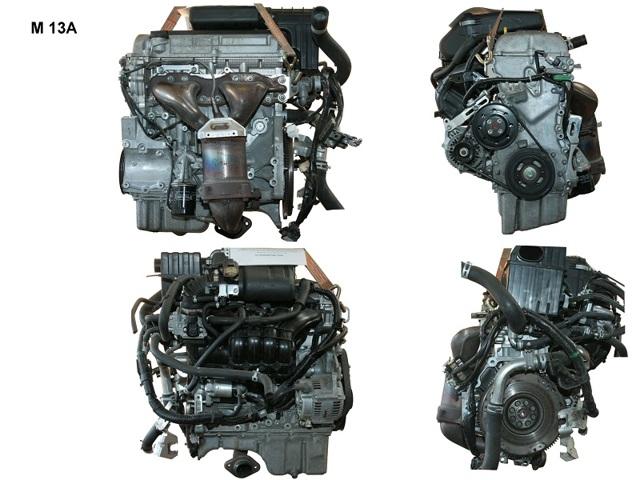 Двигатели Сузуки g10, g13, g13a, g13b, g15a: технические характеристики
