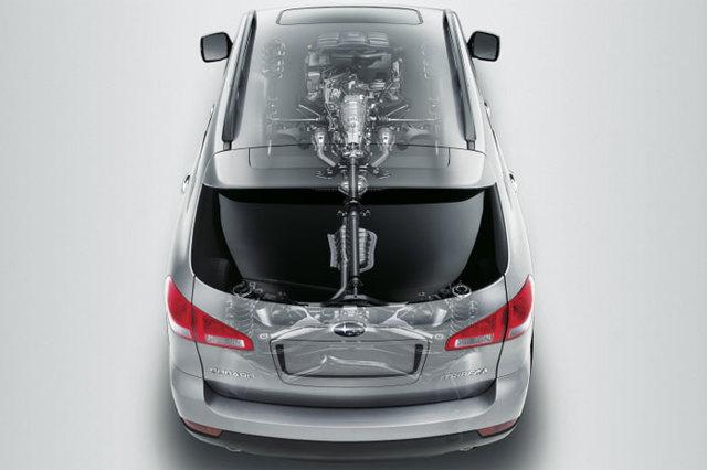 Двигатели Субару Трибека: характеристики, ремонтопригодность