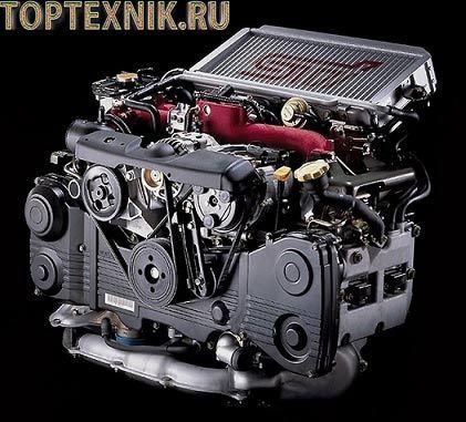Двигатели fb25, fb25b Субару: технические характеристики