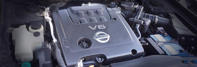 Двигатели Ниссан Теана: технические характеристики, надежность