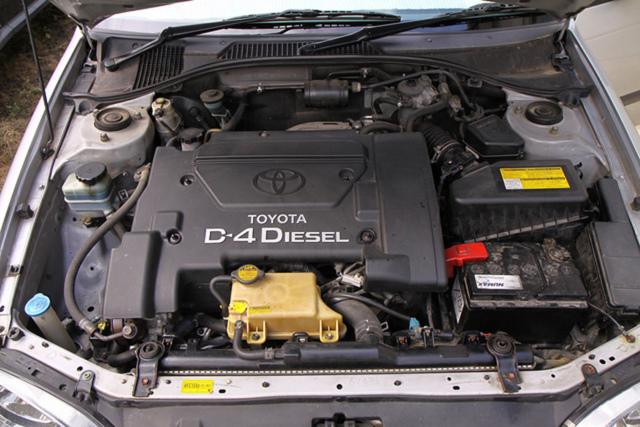 Проблема с тойота прогресс 2003г., мотор 2.5 d4