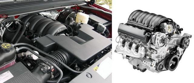 Двигатели Шевроле Тахо: характеристики и возможности