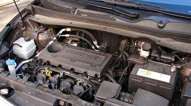 Двигатели Киа Спортейдж: какие установлены, характеристики, надежность
